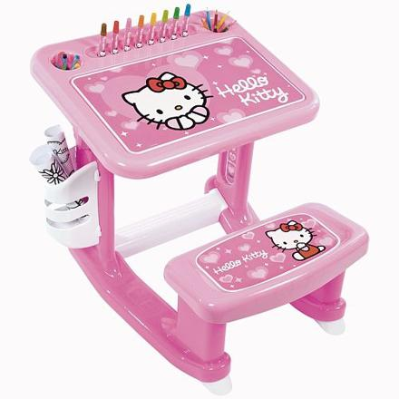 bureau enfant hello kitty