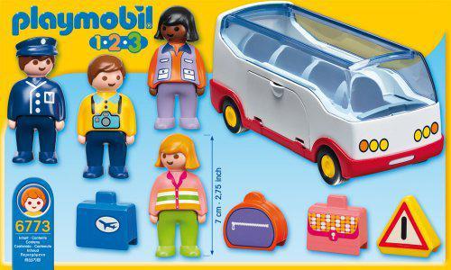 bus playmobil 123