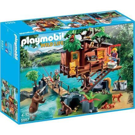 cabane dans les arbres playmobil