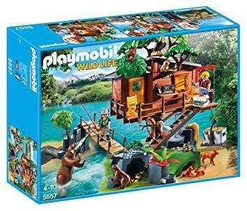 cabane des aventuriers playmobil