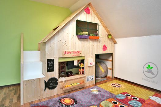 cabane interieur pour enfant