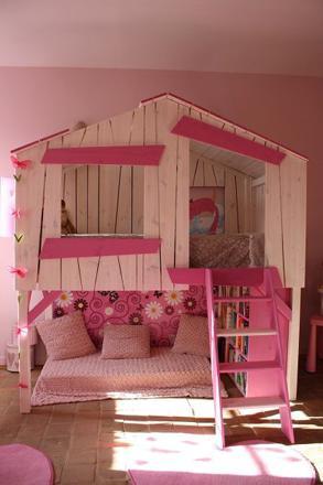 cabane pour fille
