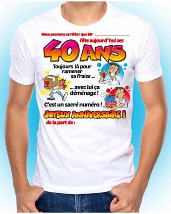 cadeau anniversaire 40 ans
