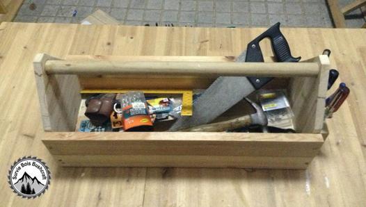 caisse a outils en bois