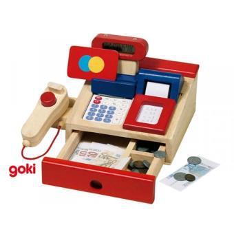 caisse enregistreuse bois jouet