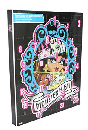 calendrier avent monster high