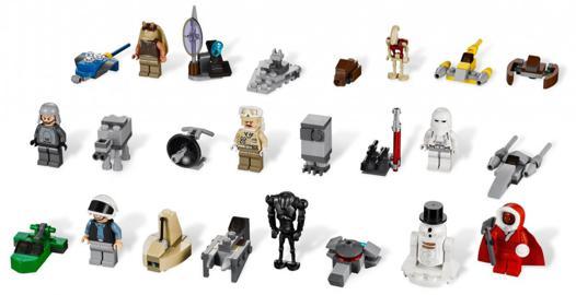 calendrier de l avent lego star wars 2012