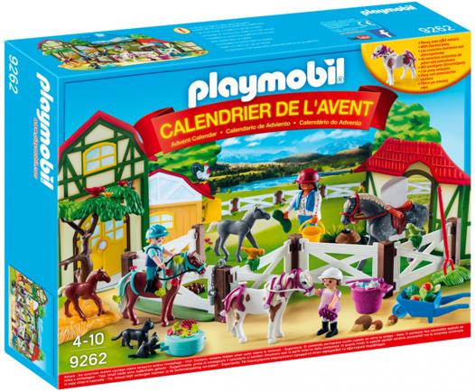 calendrier de l avent playmobil centre equestre
