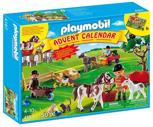 calendrier de l avent playmobil chevaux