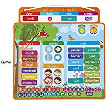 calendrier magnetique enfant