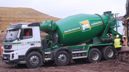 camion a beton