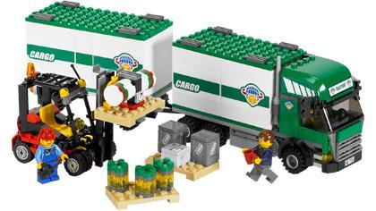 camion cargo lego city