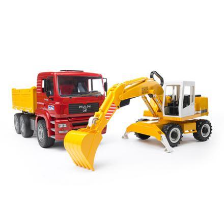 camion chantier jouet