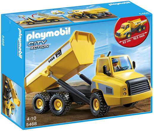 camion chantier playmobil