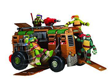 camion de combat tortue ninja