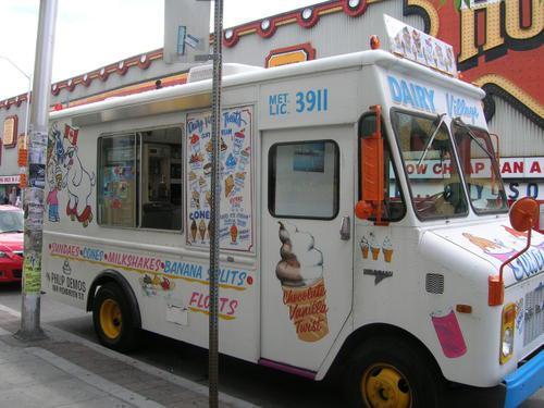 camion de glace musique