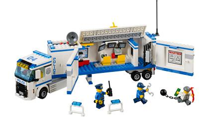 camion de police lego city