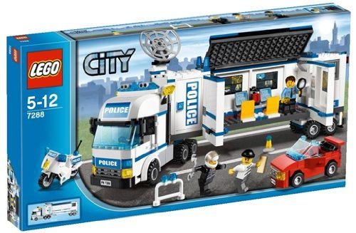 camion de police lego