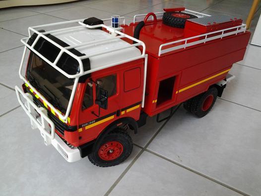 camion de pompier rc