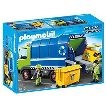 camion de poubelle playmobil