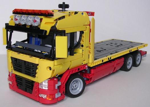 camion depannage lego