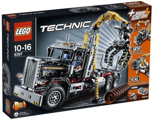camion forestier lego technic