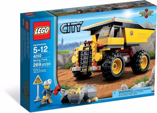 camion mine lego