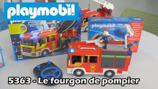 camion pompier playmobil 5363