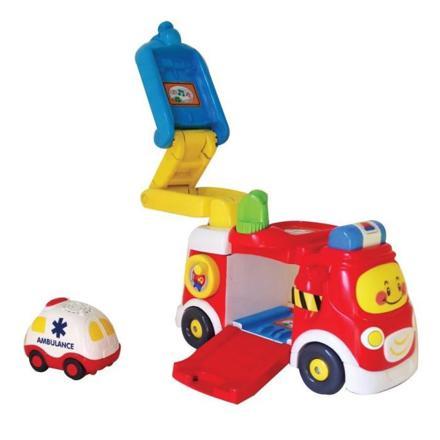 camion pompier tut tut bolide