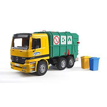 camion poubelle bruder mercedes
