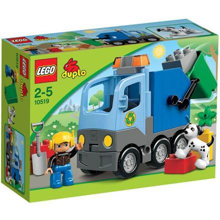 camion poubelle duplo