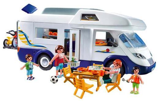 camping car familial playmobil