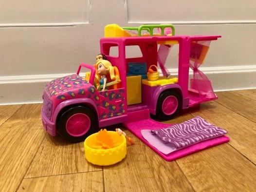 camping car polly pocket