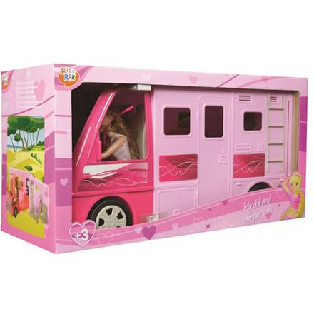 camping car poupee