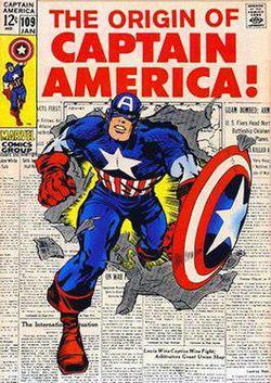 captain america w