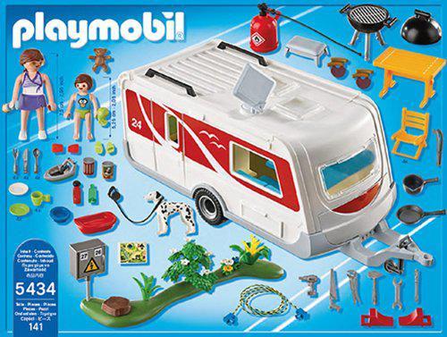caravane playmobil 5434