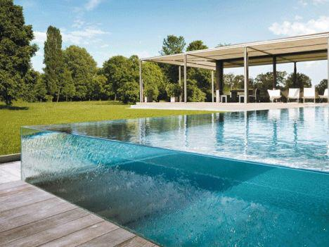 carre bleu piscine