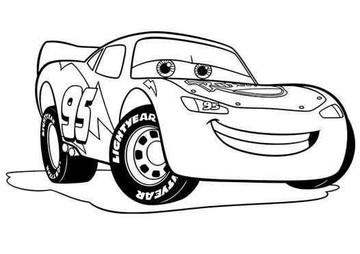 cars a colorier