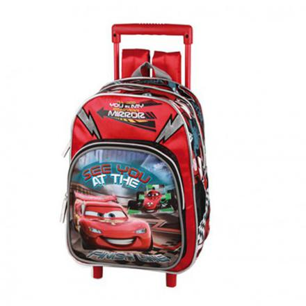 cartable a roulette cars