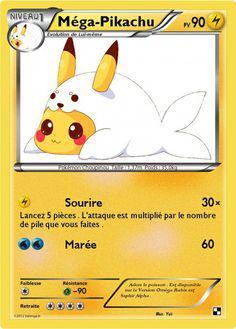 carte de pikachu