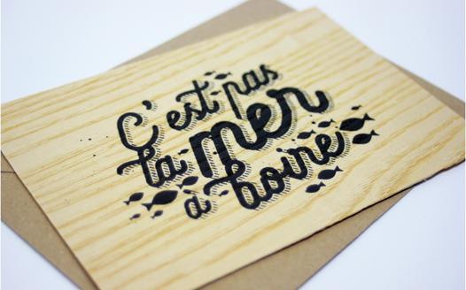 carte en bois