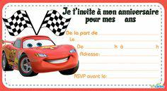 carte invitation cars