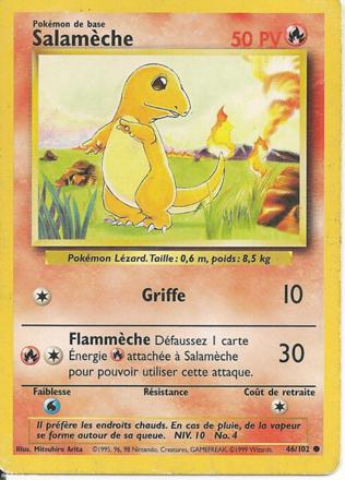 carte pokemon 1999