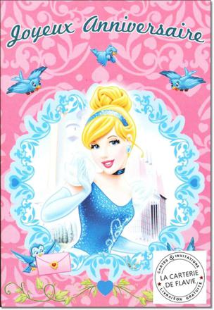 carte princesse disney