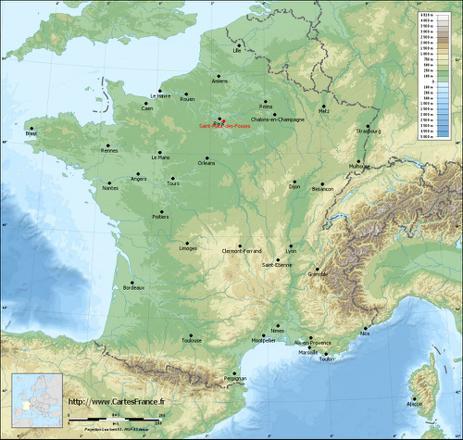 carte saint maur