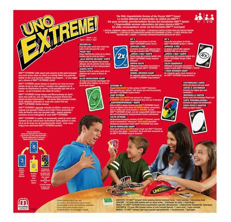 carte uno extreme