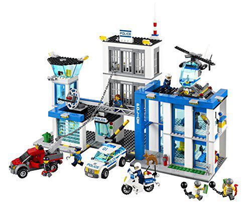 caserne police lego