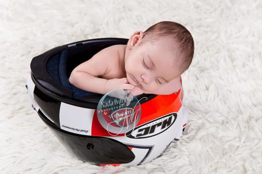 casque moto bebe