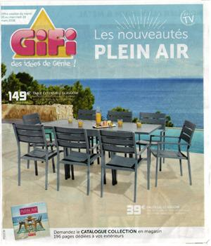 catalogue gifi plein air
