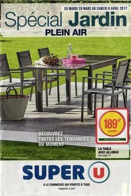catalogue jardin super u